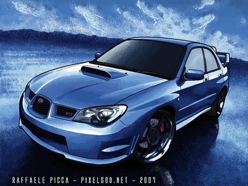 subaru impreza ms paint by raffaelepicca on deviantart On subaru impreza paint