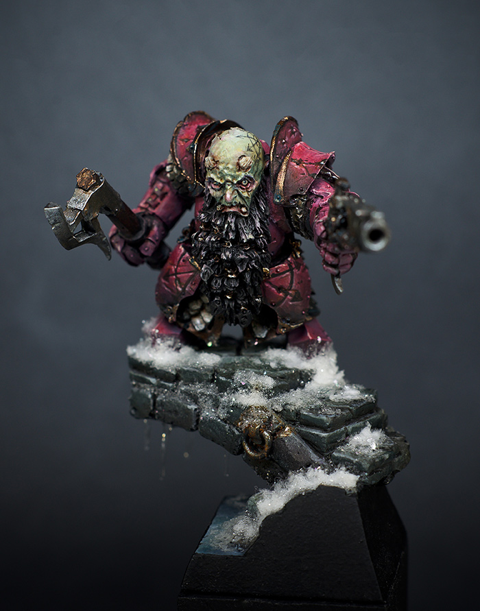 Chaos Dwarf by RaffaelePicca