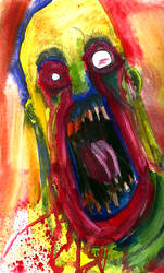 Primal Scream by gwarmor13