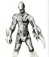 Battle Cyborg by gwarmor13