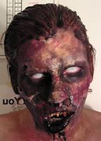 Ghoul Makeup by gwarmor13
