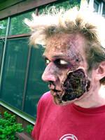 Garden Zombie by gwarmor13