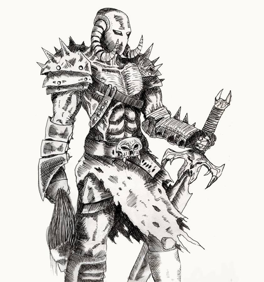 Warrior Inked By Gwarmor13 On Deviantart
