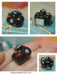 Nikon D90 Necklace Charm