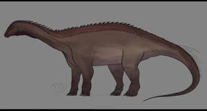 Histriasaurus sketch