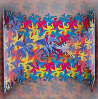 Escher like Dragons by Hop41