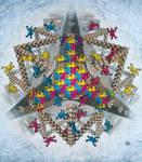 Escher like monkeys