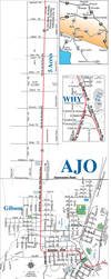 Map of Ajo, AZ - my hometown by Hop41