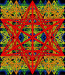 Stellated dodecahedron tessellation