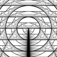 Harmonic Perspective Moire Parabolas