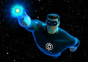 Blue Lantern the Animated Series by rxlthunder