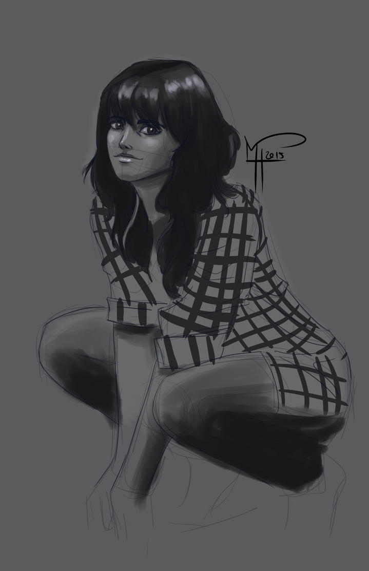 Unfinished Sketch by flyhighkid