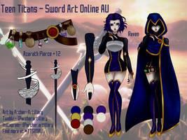 Teen Titans Sword Art Online AU- Raven