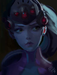Widowmaker C Home Train Art by saysar20