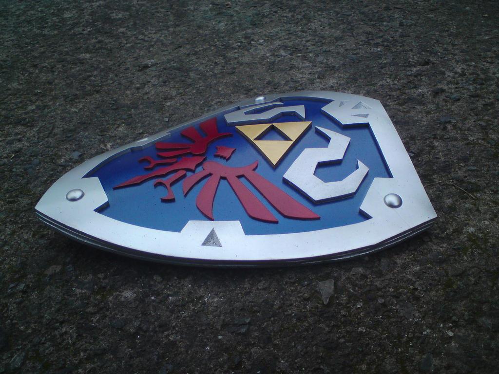 Hylian Shield from Skyward Sword by magnacartazero