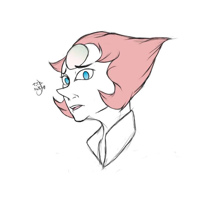 Fanart fait en mai 2017. Pearl de Steven universe o/