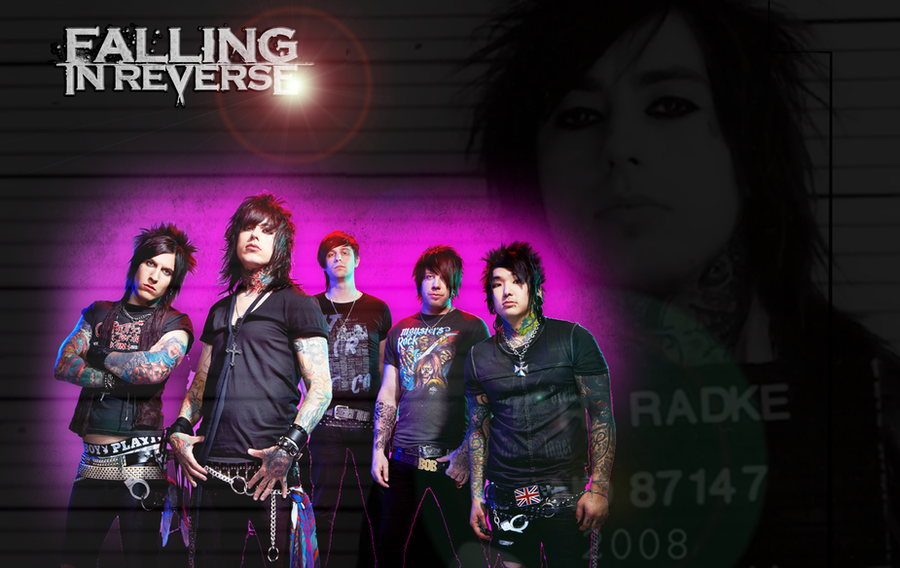 Falling In Reverse Wallpaper by AngryBlueJay