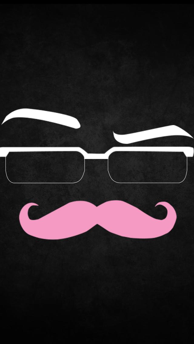 mustache iphone wallpaper hd - photo #16