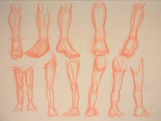 Proportion study 06 - 2008 Sketchbook by ArtCresc