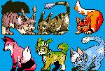 pokemon style icons by slateport