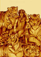 Intelligent Tigers by easytheregenius