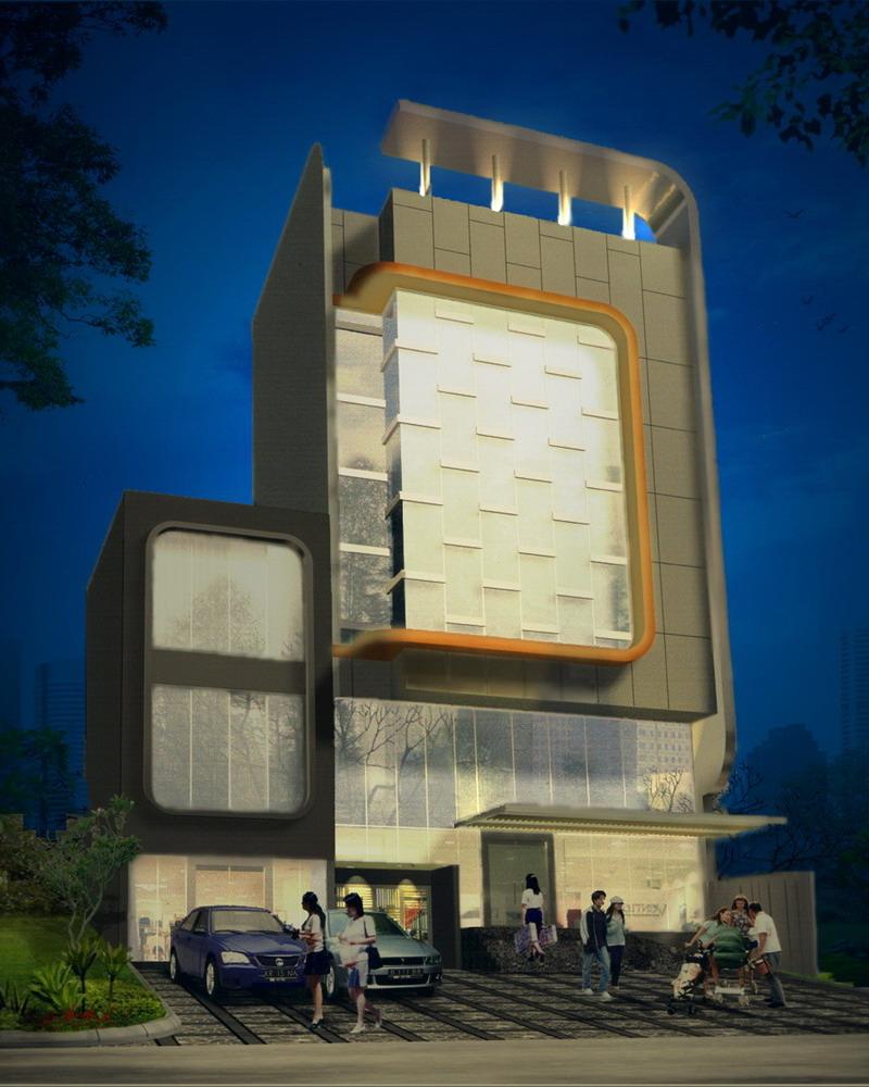 3D Building Illust. +PS effect by amanitaverosa
