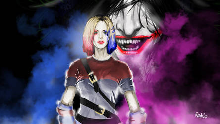 Harley Quinn 80's