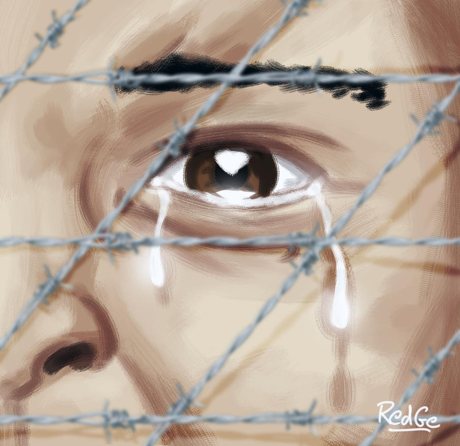 No child in prison for his parent's crimes by RedGeOrb