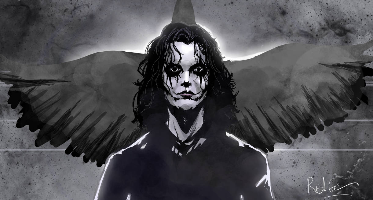 The Crow Fanart by RedGeOrb