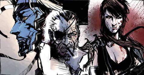 Fan art Metal Gear by RedGeOrb