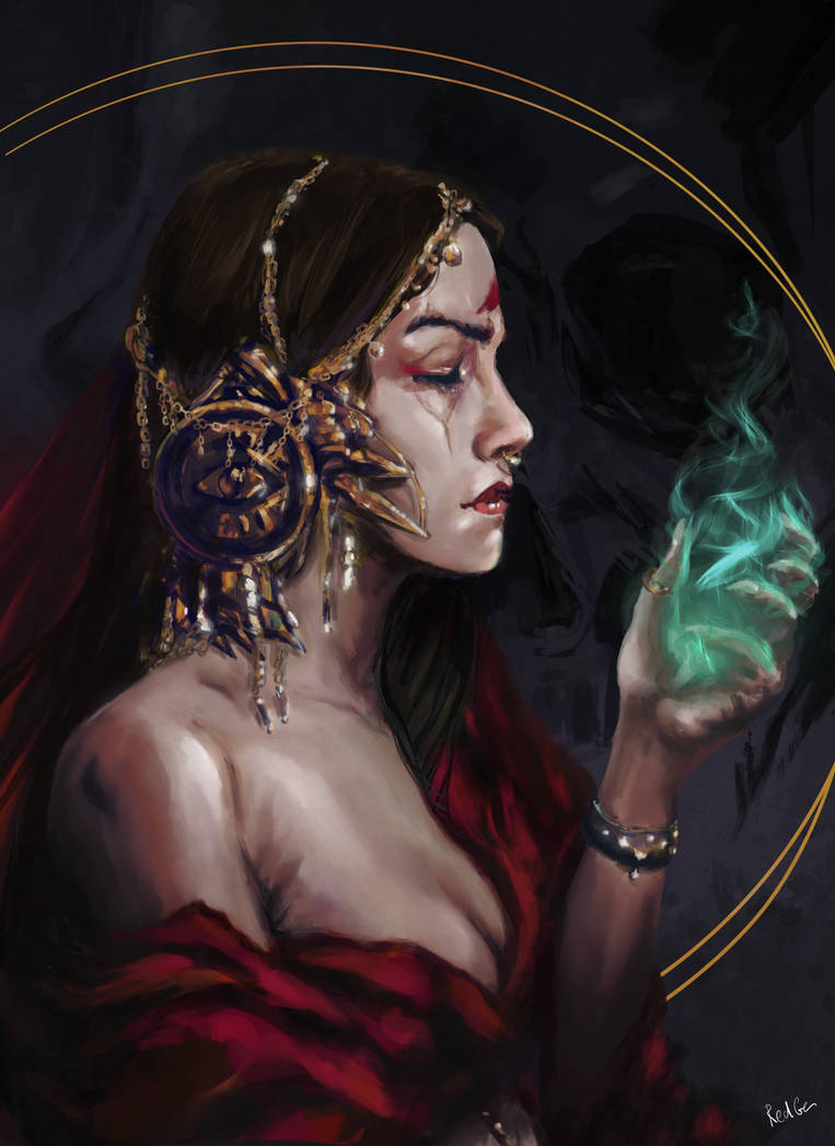 The Red Oracle