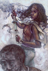 Apocalypse Samurai by AliceMeichi