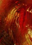 120 red silk