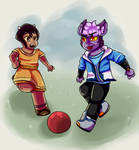 Christmas commissions- Kids being kids by Its-a-Paco-thing