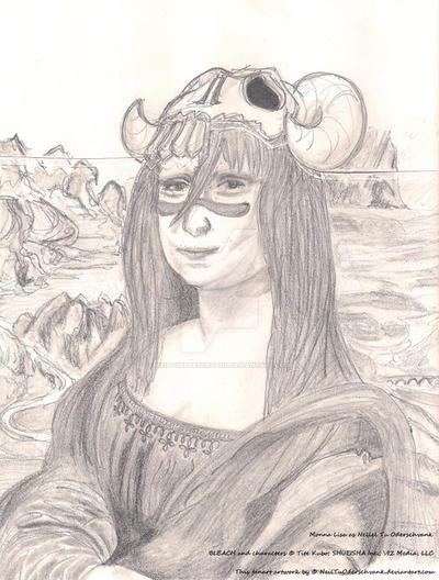Monna Lisa as Neliel Tu Oderschvank by NeilTuOderschvank