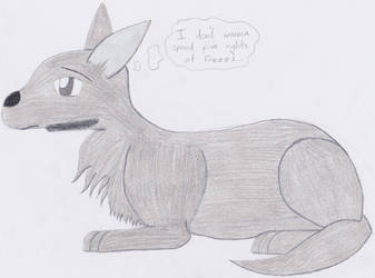 Olmo as a wolf