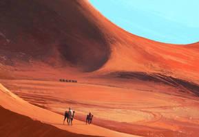 Desert ships by Thuberchs