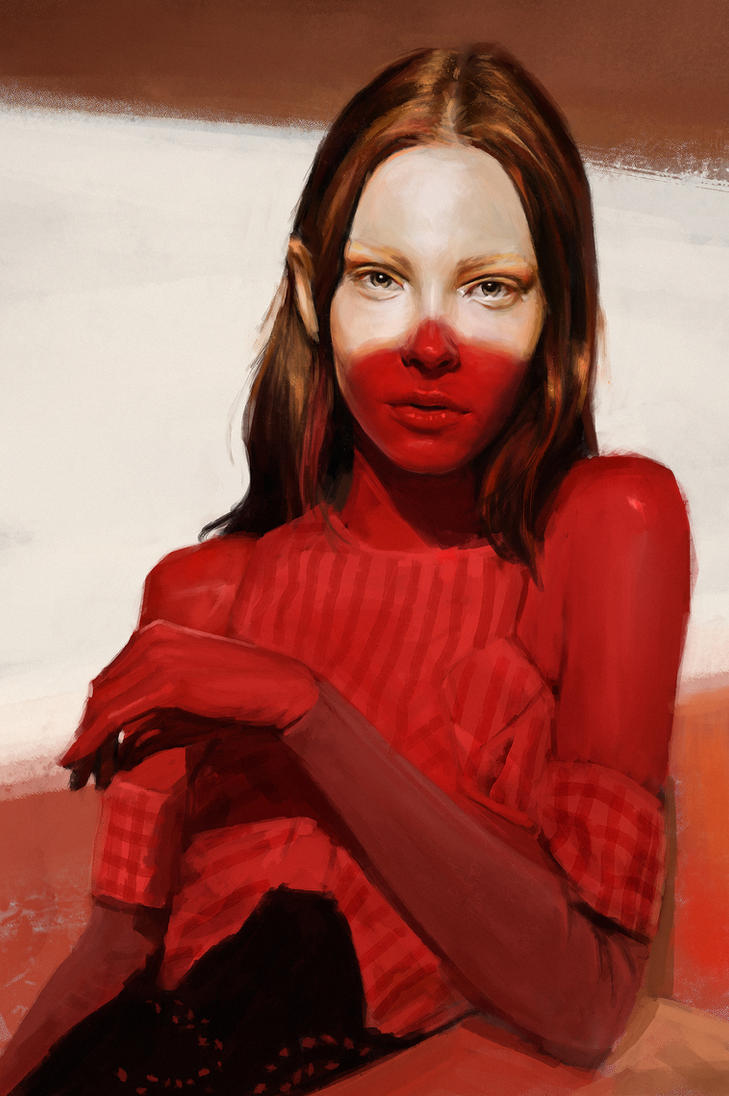 Portrait study 3 by Thuberchs