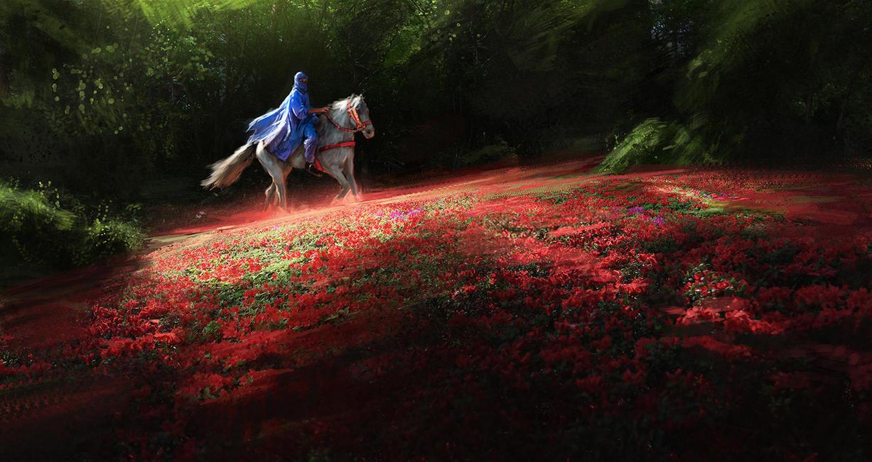 Horseman speedpain by Thuberchs