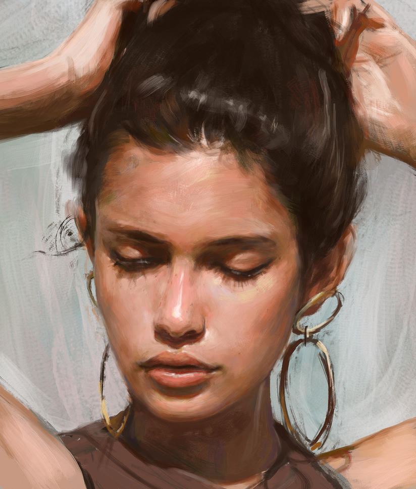 Portrait study by Thuberchs