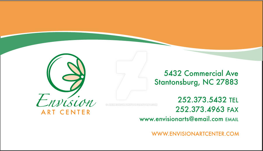 Beautiful Image Of Envision Business Cards Business Cards