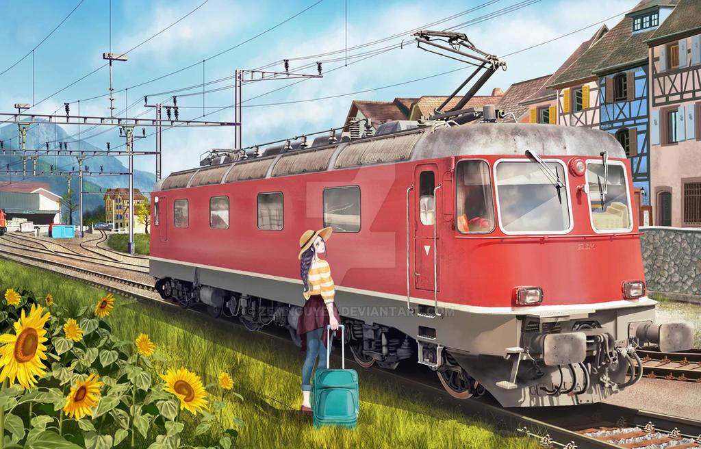 Train by ZemNguyen