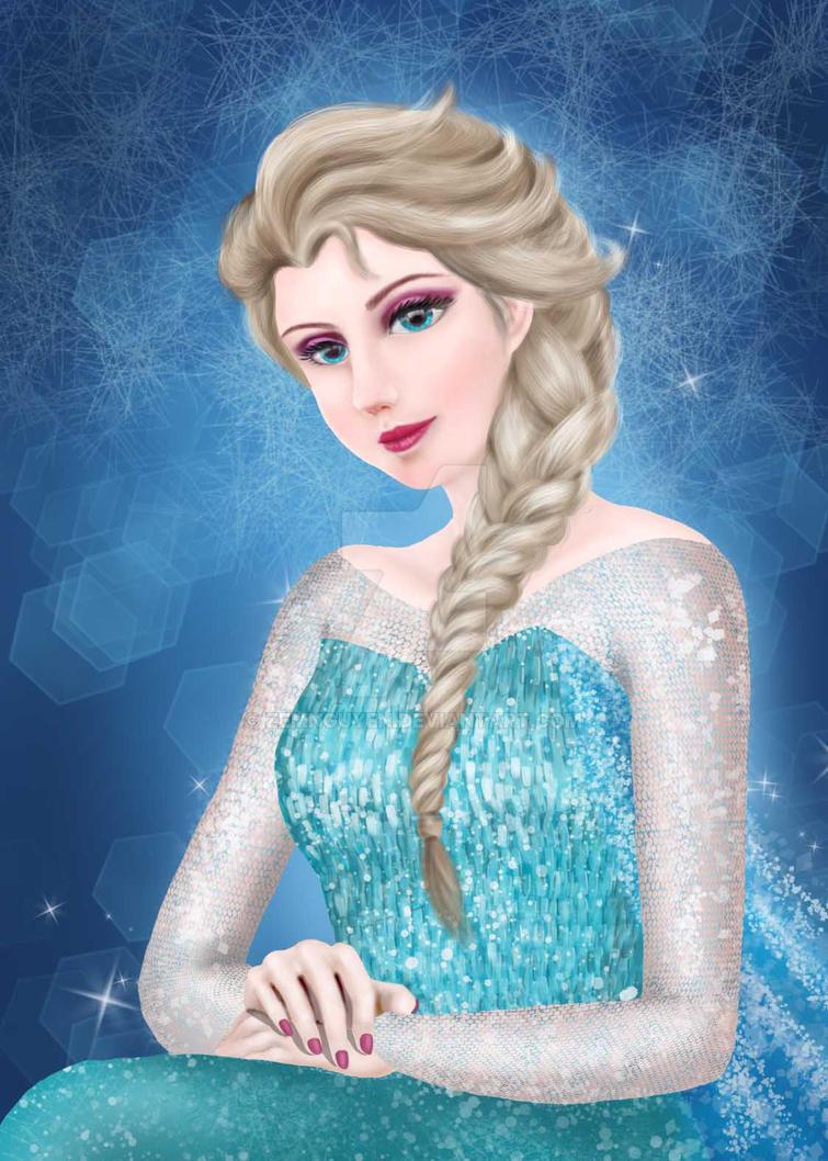 Elsa by ZemNguyen
