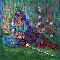 Prince and Rose by SepiaCoerulea