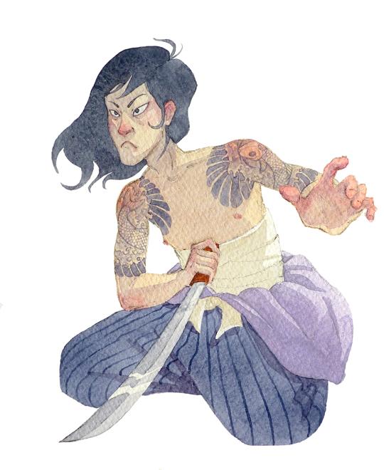 Samurai by Longhair