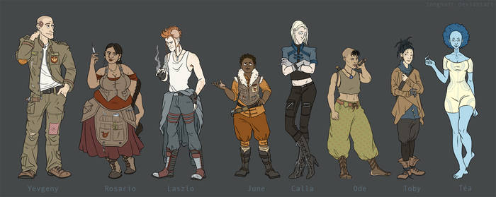 LILIT Crew Lineup