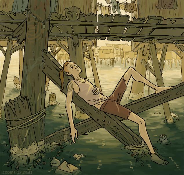 The docks by Longhair