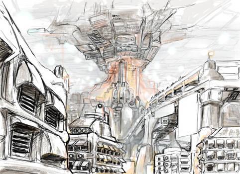 Dream Sequence Concept Art