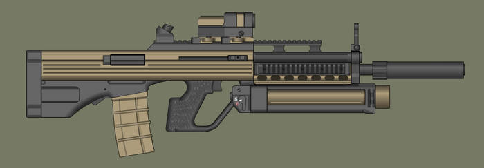 B.A.S.E. Rifle by PatTheGunartist