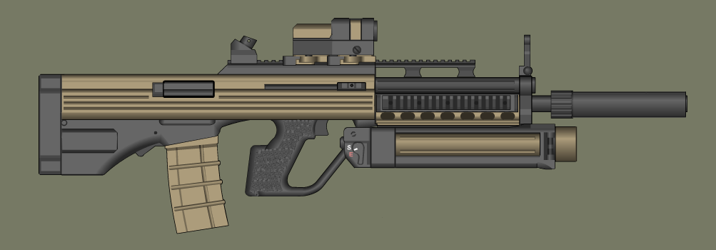B.A.S.E. Rifle by PatTheGunartist